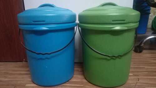 10-12 Ltr Reprocess HDPE Dustbin
