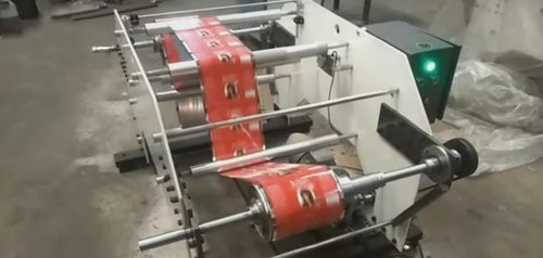 Winder Rewinder For Batch Coding Machines