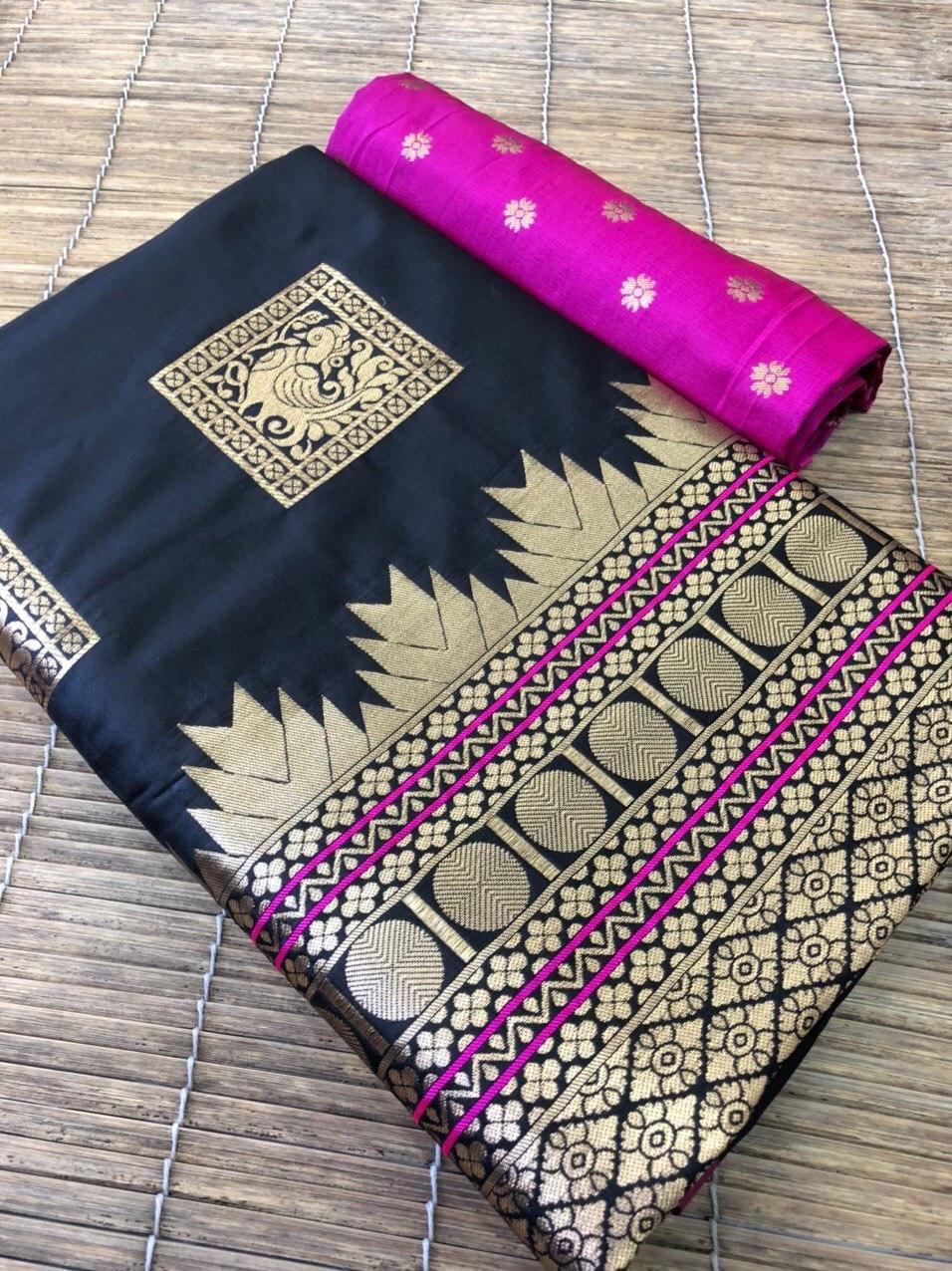 Ladies Traditonal Silk Saree