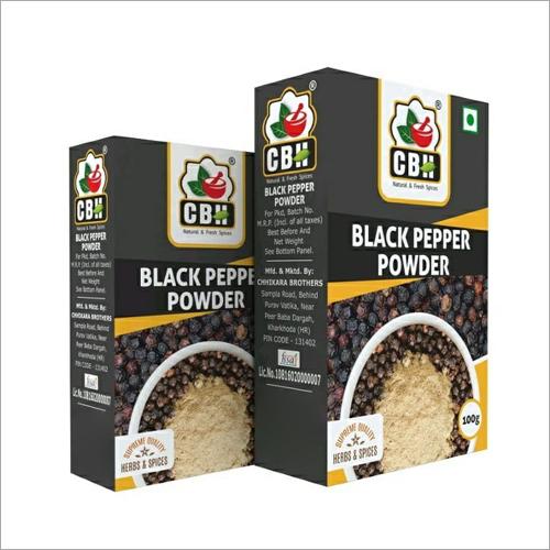 100 GM Black Pepper Powder