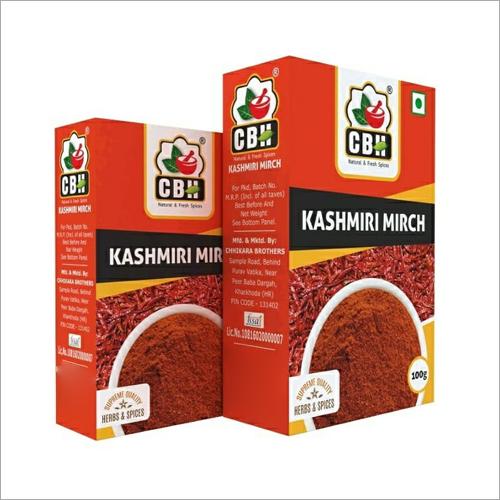 100 GM Kashmiri Mirch