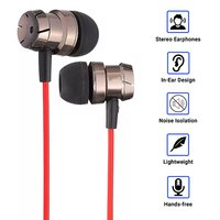 pTron HBE6 (High Bass Earphones) Stereo Sound Wired Earphones with Mic