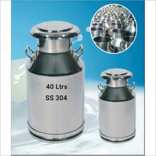 40 Litre Stainless Steel Milk Can
