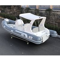 Liya17feet hypalon inflatable rib dinghy for sale
