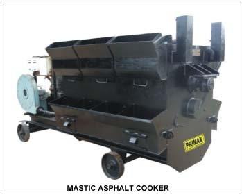 Mastic Asphalt Cooker