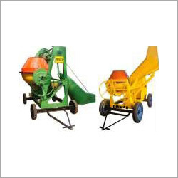 Primax Diesel Engine - Electric Motor Tilting Drum Type Hopper Fed Mixer