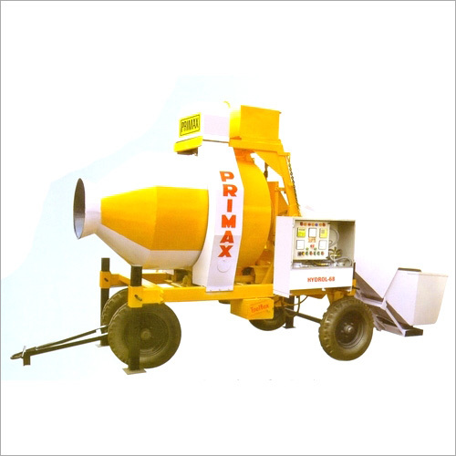 Mini Mobile Batching Plant Reverse Drum Mixer