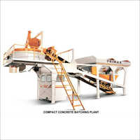 Batching Plant With Pan Type Mixer