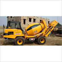 Non- Tilting Drum Mixer Diesel Engine Self Loading Concrete Mixer