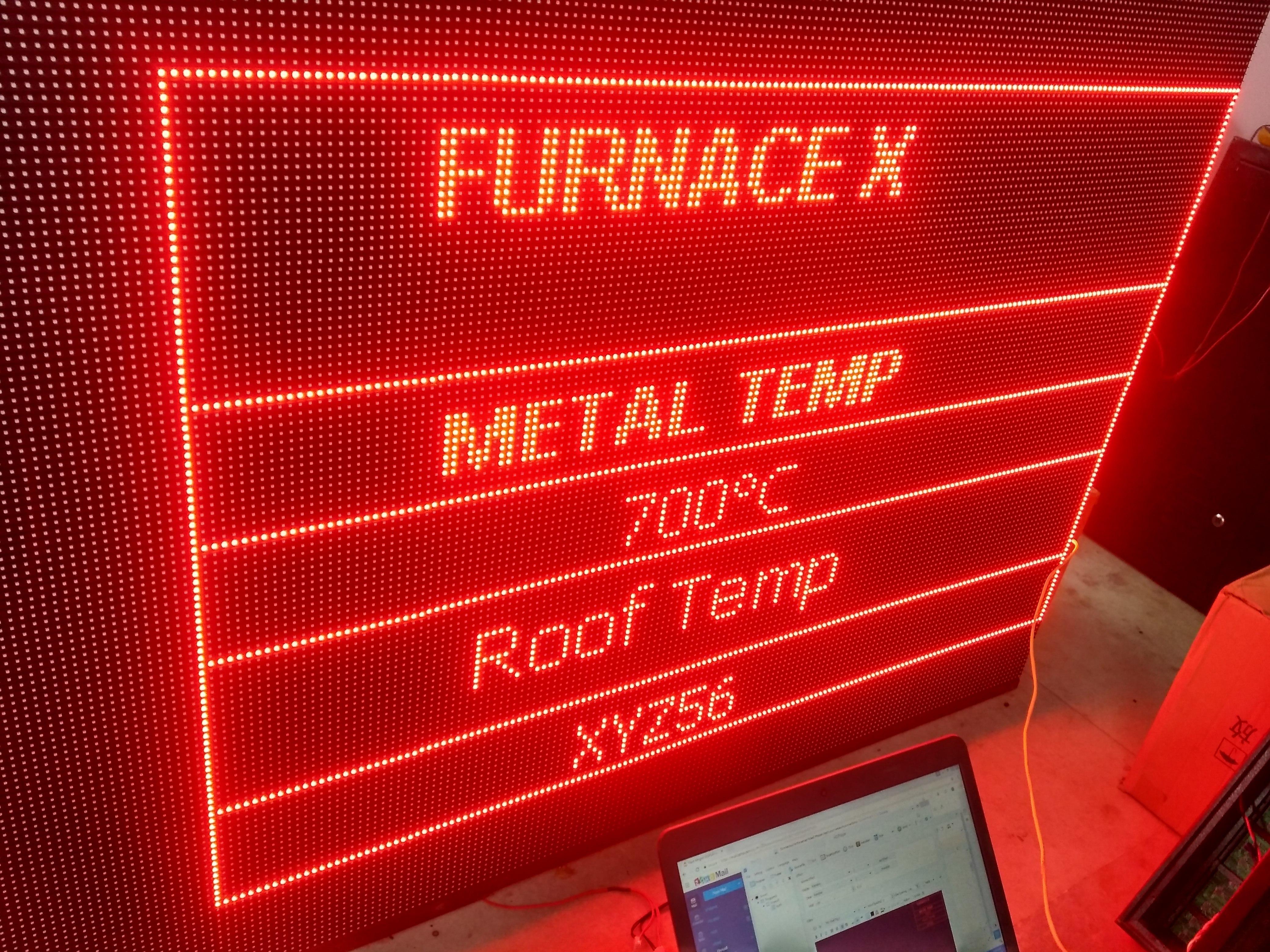 Industrial LED Display