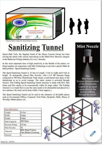 Sanitizing Tunnel
