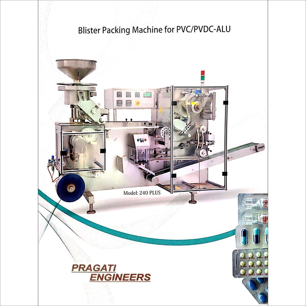 Blister Packing Machine For PVC-PVDC-ALU