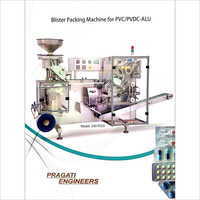Blister Packing Machine For PVC-PVDC-ALU