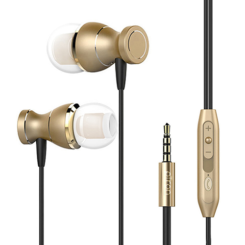 pTron Magg In-Ear Stereo Sound Magnetic Wired Headphones with Mic