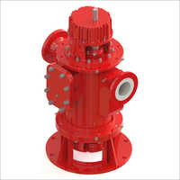 Vertical and External Bearing Twin Screw Pump
