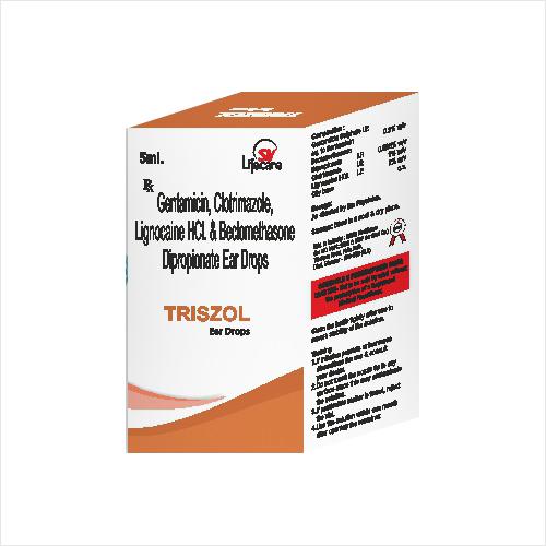 Gentamicin Clotrimazole Lignocaine HCL And Beclomethasone Dipropionate Ear Drops