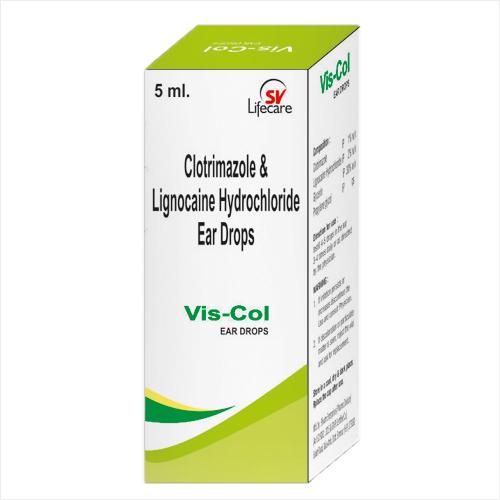 Clotrimazole And Lignocaine Hydrochloride Ear Drops