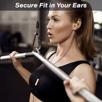 pTron Soundfire In-ear Sports Earphones with Stereo Sound and Mic
