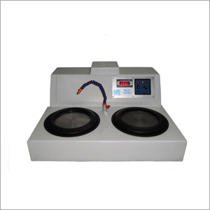 Electric Double Disc Polishing Machine