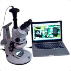 Stereozoom Trinocular Microscope