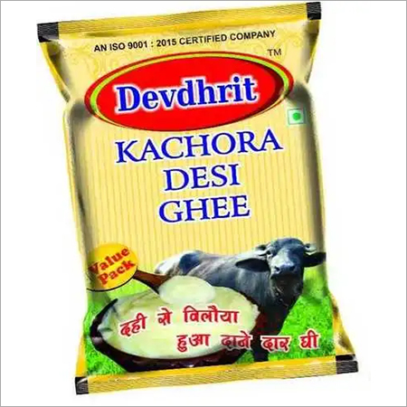 Ghee Packaging Pouch
