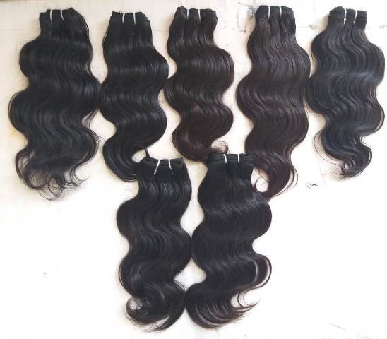 Temple Body Wave Human Hair