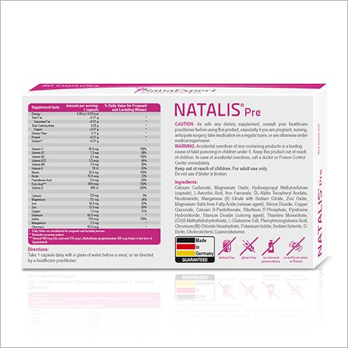 Natalis Pre Capsules