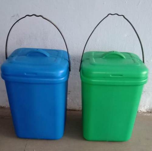 10-12 Ltr Square House Hold Dustbin