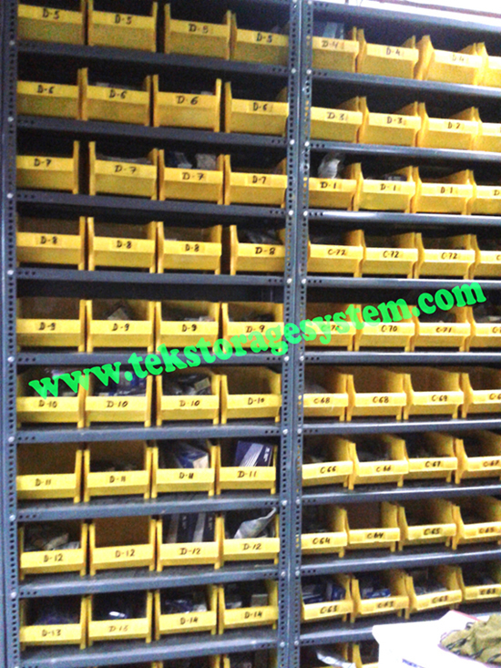 Plastic Bins Rack