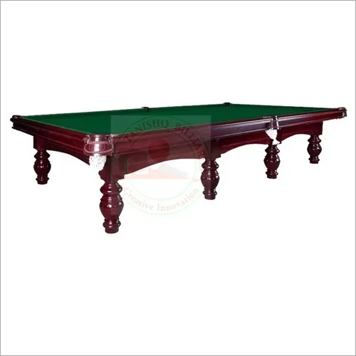 Traditional Billiards Table