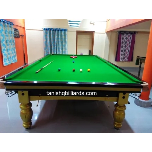 Imported Steel Cushions Billiards Table