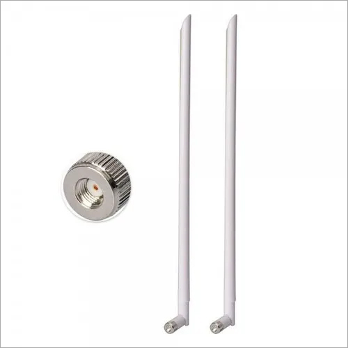 2.4 GHz White Antennas RP-SMA Wi-Fi Antenna For Wi-Fi Router Extender Booster