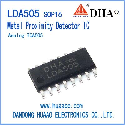 TCA505 Metal Proximity Detector IC