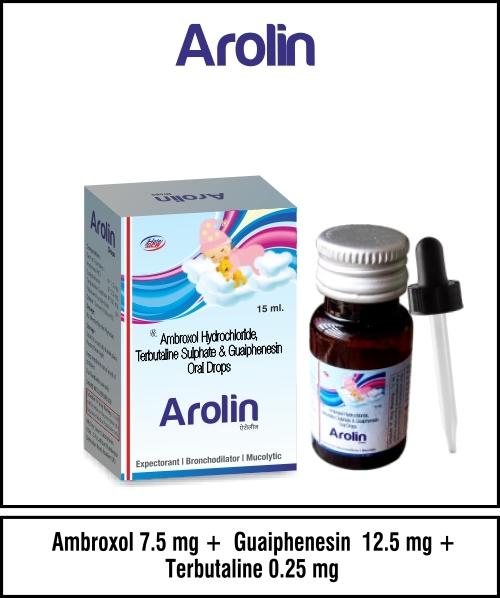 Ambroxol + Terbutaline 1.25 mg. Guaiphenesin + Menthol