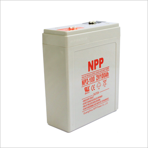 2V100Ah Valve Regulated Lead Acid Battery