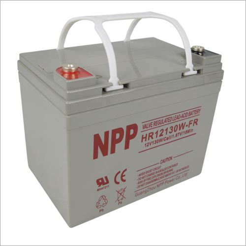 12V130W Valve Regulated Lead Acid Battery