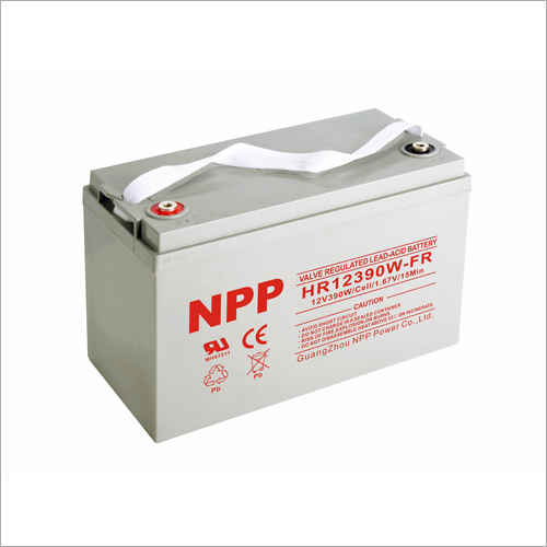 12V390W Valve Regulated Lead Acid Battery
