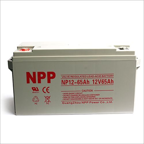 12V65Ah Valve Regulated Lead Acid Battery