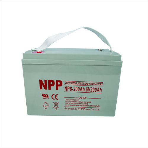 6V200Ah Valve Regulated Lead Acid Battery