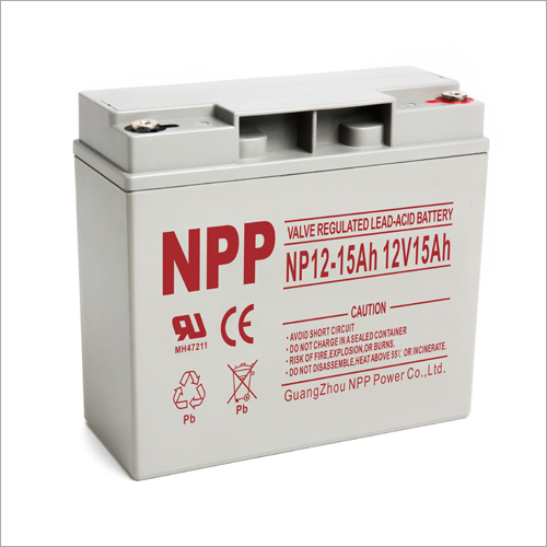 12V15Ah Valve Regulated Lead-Acid Battery
