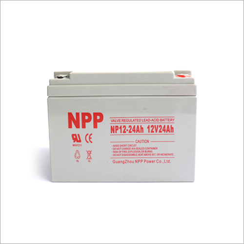 12V24Ah Valve Regulated Lead-Acid Battery