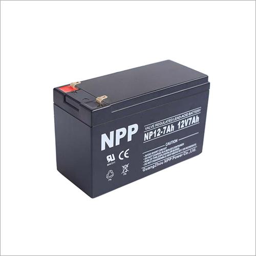 12V7Ah Valve Regulated Lead-Acid Battery