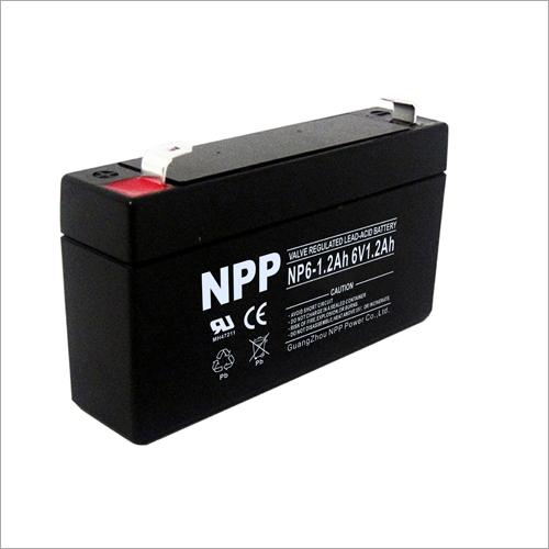 6V1.2Ah Valve Regulated Lead-Acid Battery