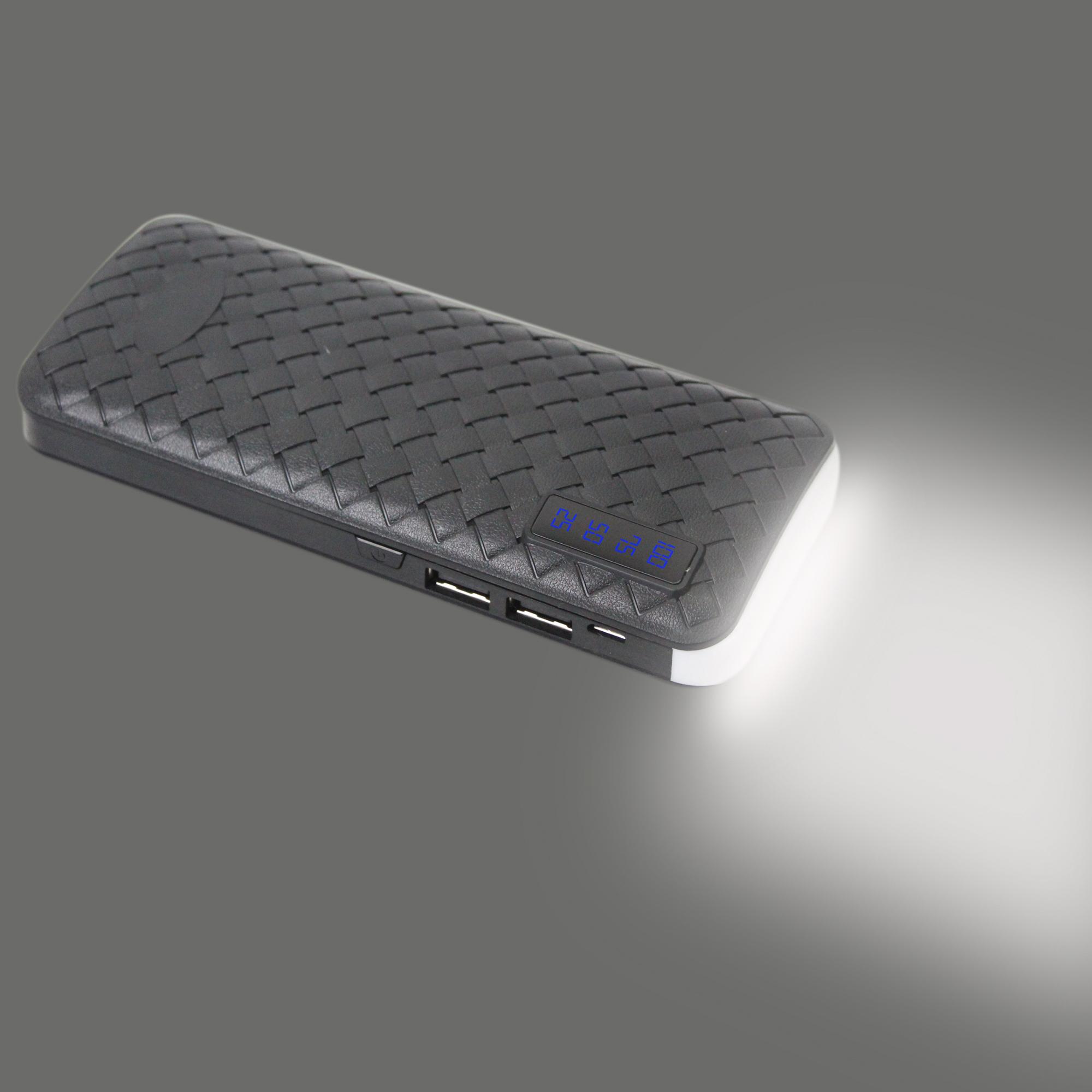 Power Bank Croco-LED 10000mAh