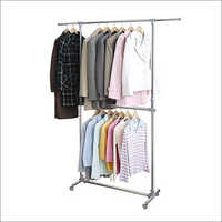 Stainless Steel Garment Display Hanging Rack