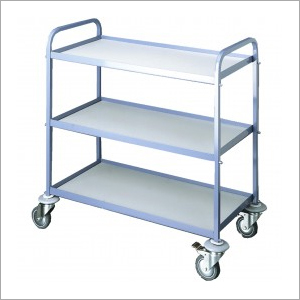 3 Tier Stainless Steel Serving Trolley
