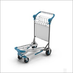 Stainless Steel Airport Luggage Trolley