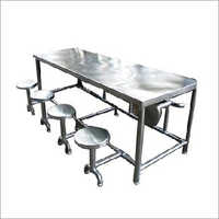 Stainless Steel Table And Chair
