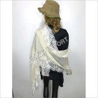 Pashmina French Lace Shawls , size-90x220cm