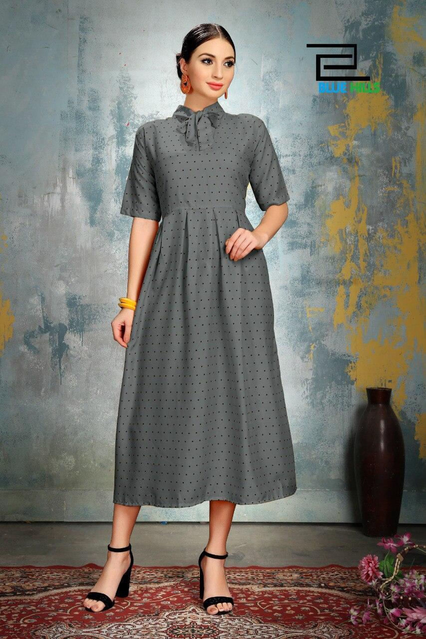 Ladies neck designer kurti